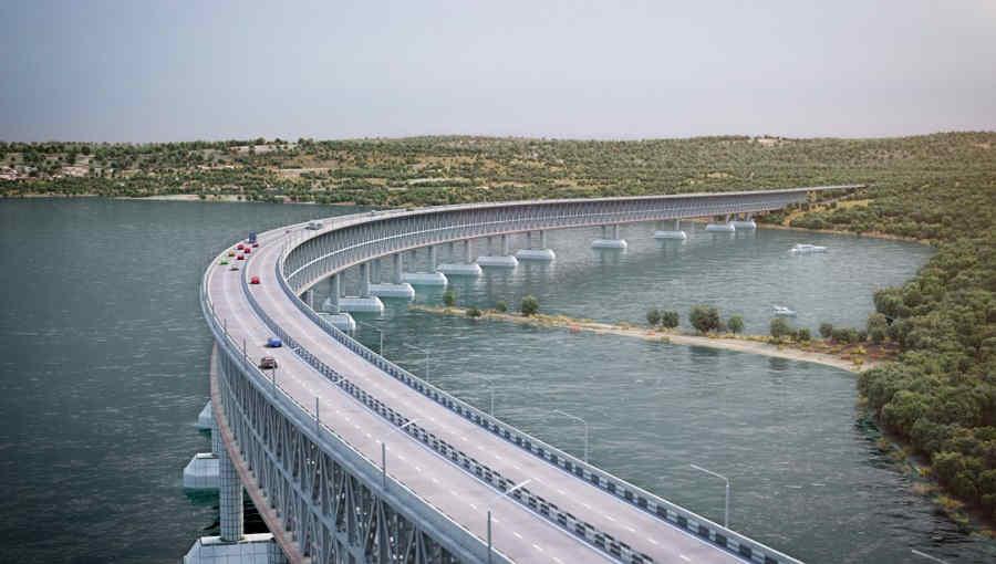 Крымский мост через Керченский пролив и его строительство