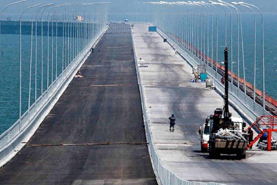 Керченский мост последние новости видео октябрь 2016