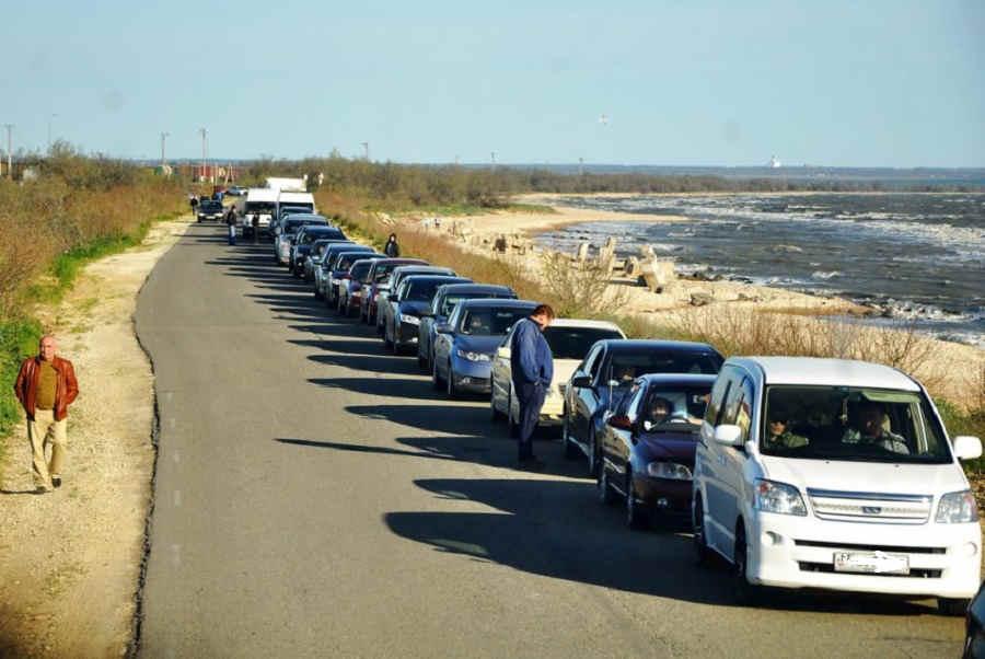 Переправа Крым – Кавказ сегодня очередь: веб камера