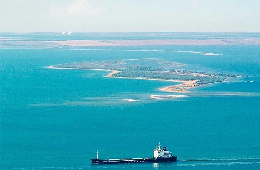 Где строят мост через Керченский пролив: карта