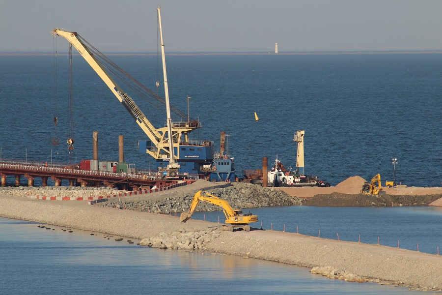 Сроки строительства моста через Керченский пролив, фото и видео