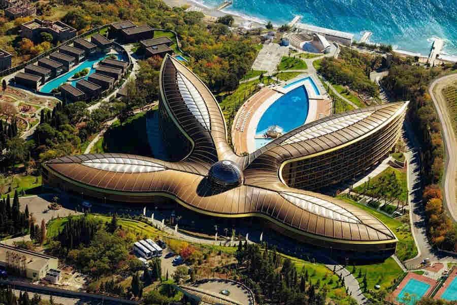 Отель «Мрия», Крым, Сбербанк: главные особенности необыкновенного комплекса!