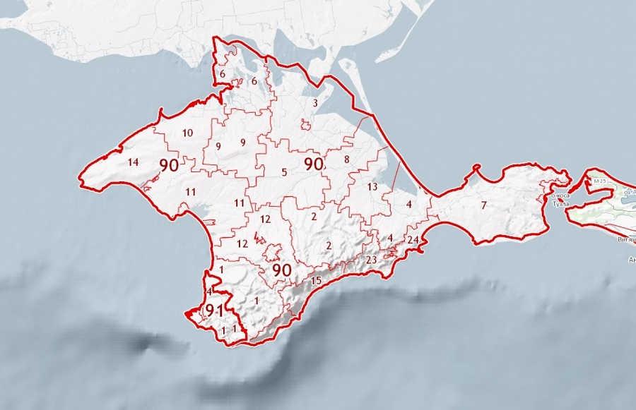 Публичная кадастровая карта Крыма