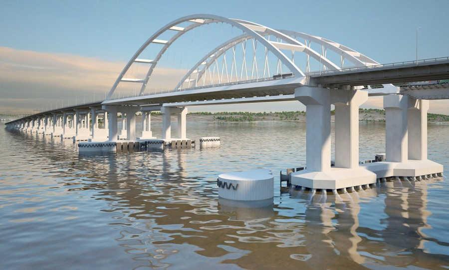 Зачем нужна арка на Крымском мосту?