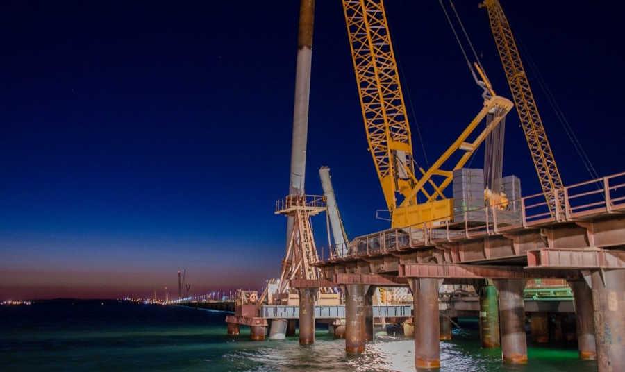 Керченский мост: последние новости, видео октябрь 2017