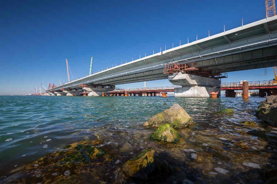 Ротенберг рассказал о разваливающемся Керченском мосте