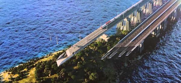 Как будет выглядеть Крымский мост фото
