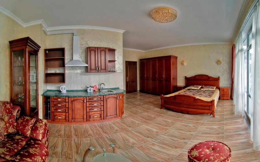 Отдых в Крыму в апартаментах с кухней