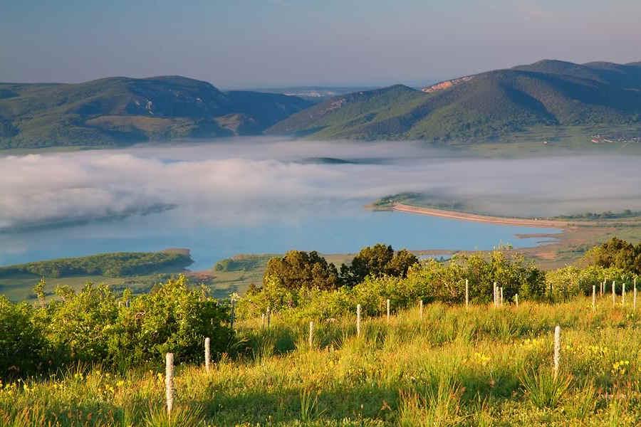 Зеленый туризм и отдых в Байдарской долине в Крыму