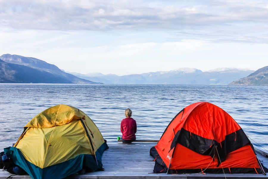 Где провести отдых с палатками в Крыму?