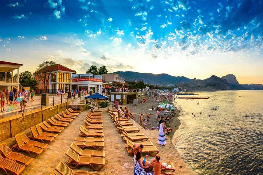 Отдых в Крыму: фото пляжей, достопримечательностей, моря
