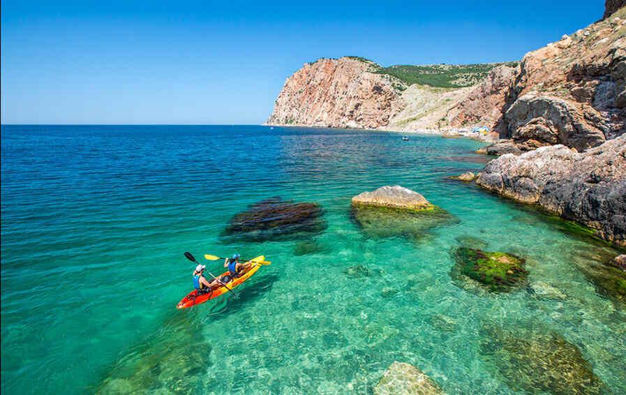 Крым отдых море фото