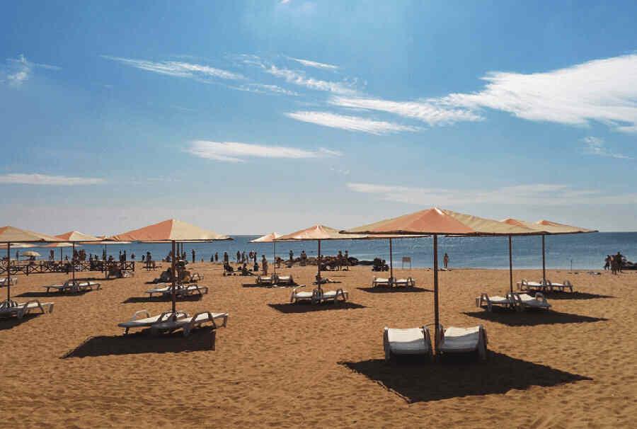 Отдых в Крыму фото пляжей