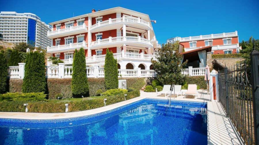 Жилье на любой вкус в Гурзуфе: отели и мини-отели