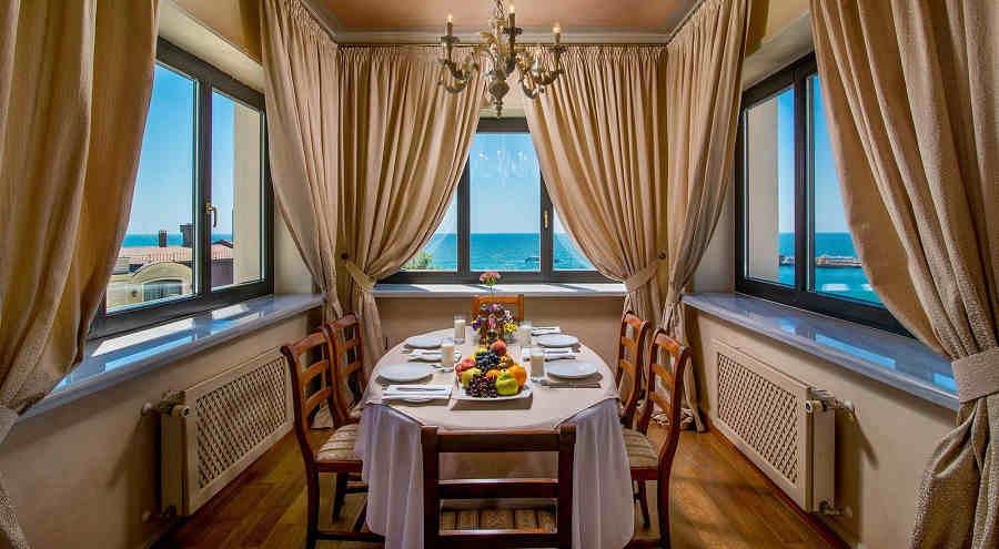 3 лучшие гостиницы Крыма