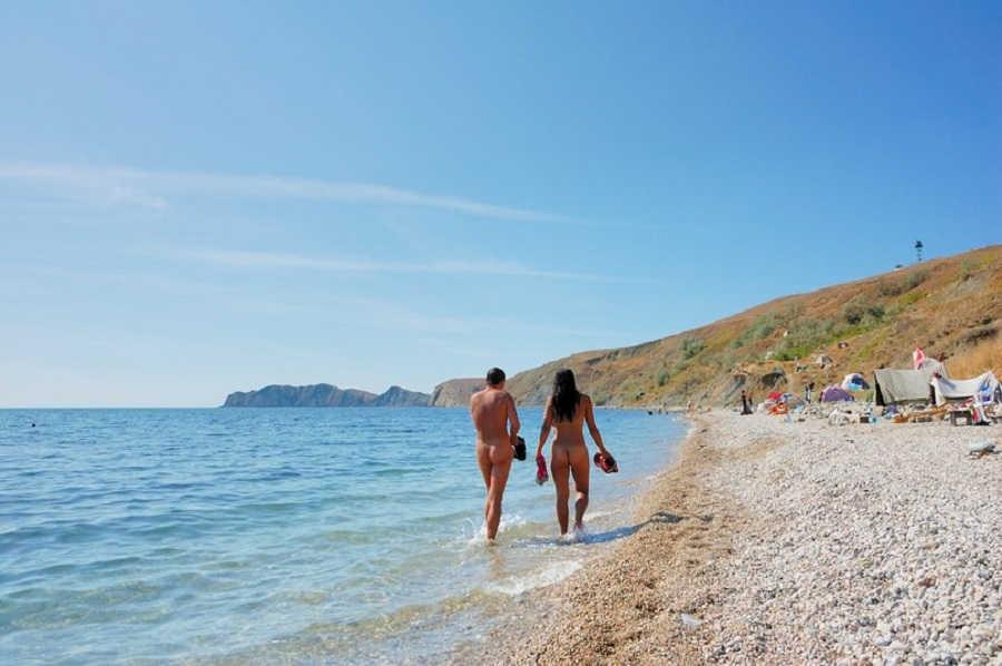 Нудистский рай в Крыму | Лучшие нудистские пляжи Крыма
