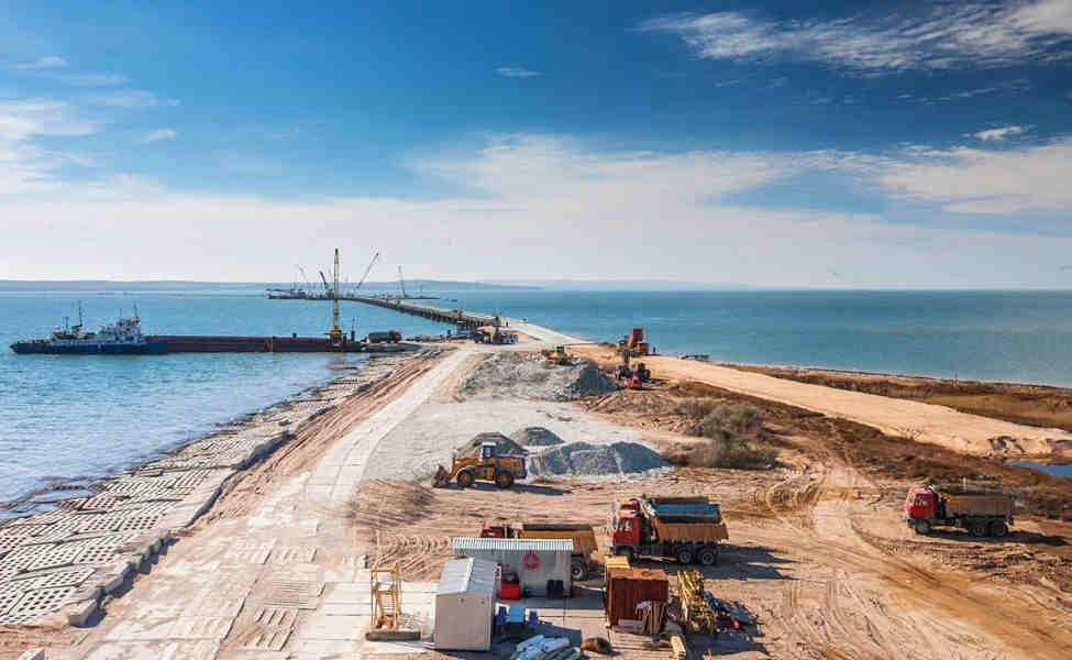 Актуально! Строительство моста через Керченский пролив сегодня