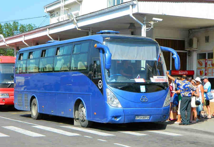 Анапа порт Кавказ расписание автобусов