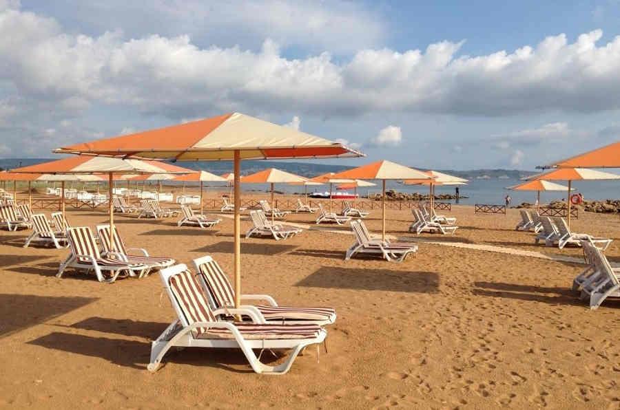Лучшие пляжи Феодосии