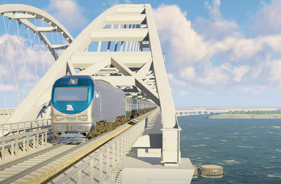 Когда откроют мост в Крым для поездов?