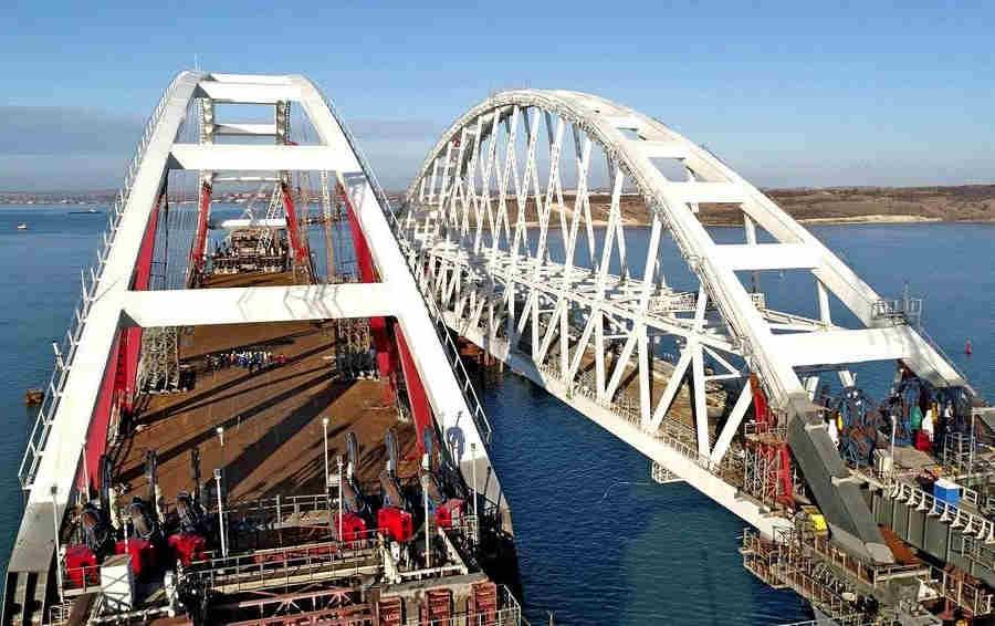 Крымский мост, автомобильная арка: последние новости