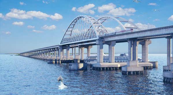 Как будет выглядеть Керченский мост фото