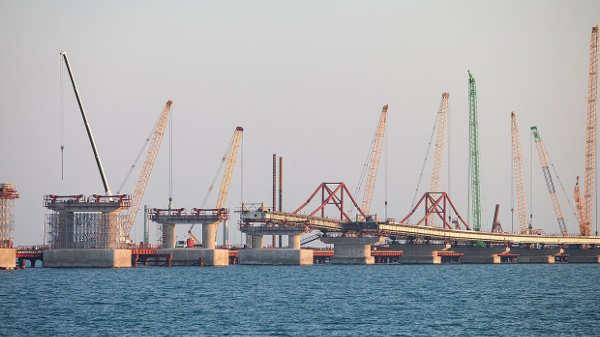 Когда построят Крымский мост