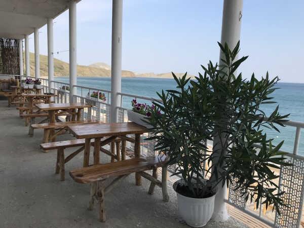 Отель кафе Крым в Коктебеле 3
